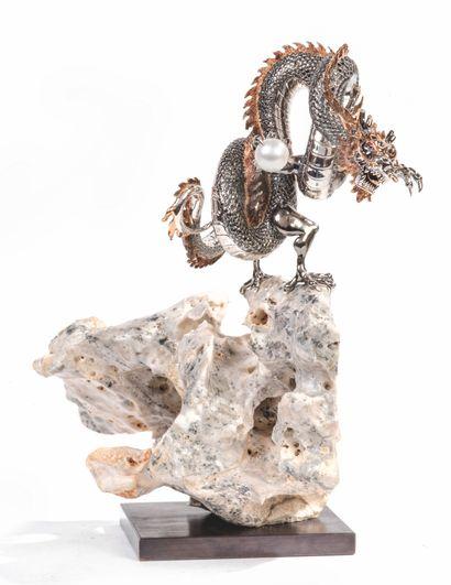 Dragon à la perle sacrée