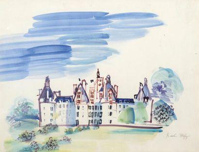 Le peintre des Châteaux de la Loire