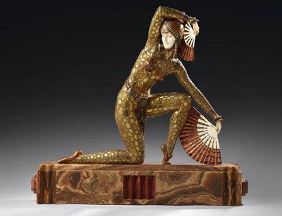 Les figures joliment décoratives de Demeter Chiparus