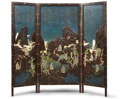 Qianlong et les luohan