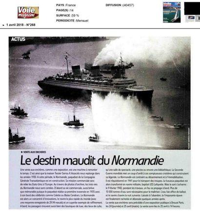 Le destin maudit du Normandie