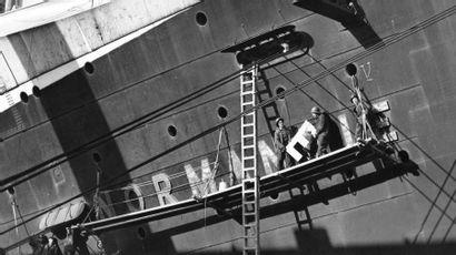 La mémoire du paquebot Le Normandie mise aux enchères