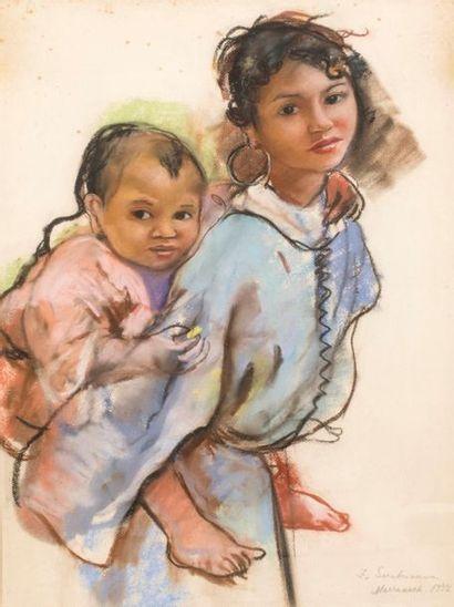 Serebriakova, souvenirs du Maroc