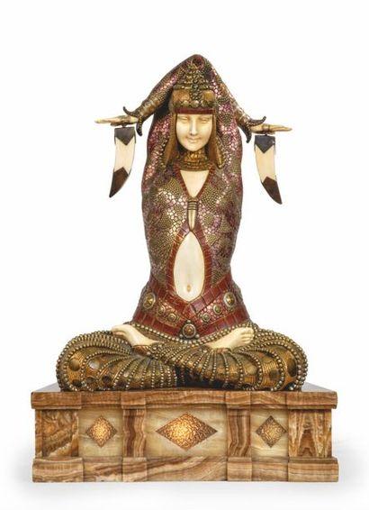 127 000 € pour une déesse de Demeter CHIPARUS