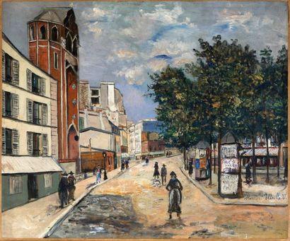 14 peintures inédites de Maurice Utrillo
