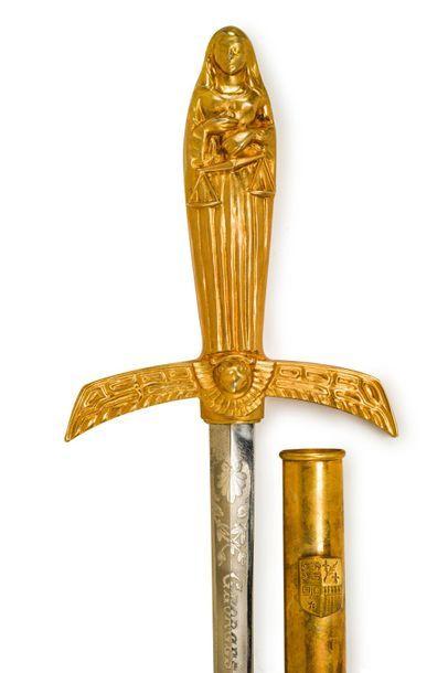 Épée symbolique