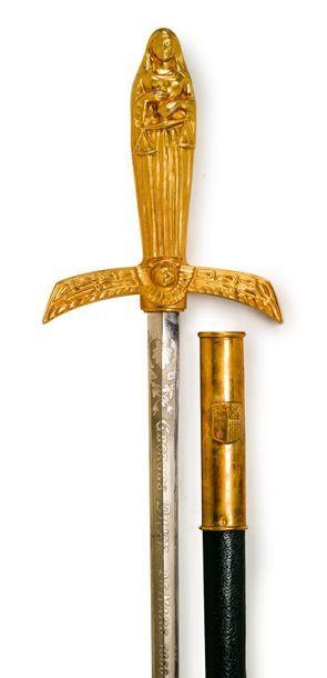 épée d'académicien