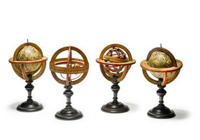 Le monde en sphères