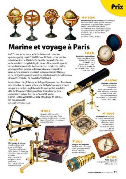 Marine et voyage à Paris