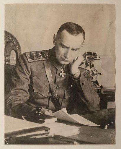 Les archives inédites d'Alexandre Koltchak, chef suprême de la Russie de 1918 à 1920