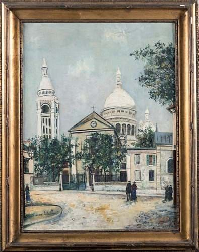 Paintings by Maurice Utrillo