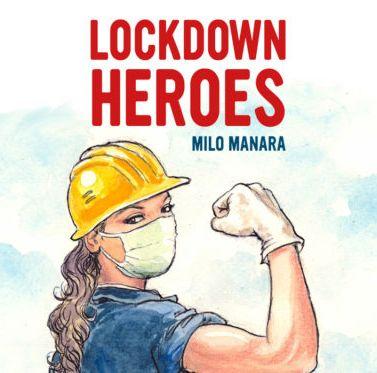 MILO MANARA ANNONCE LOCKDOWN HEROES, PORTFOLIO DE DESSINS EN SOUTIEN AUX HÔPITAUX ITALIENS