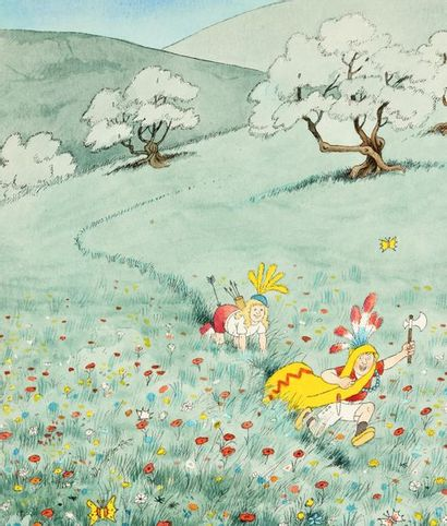 Albert Dubout, fleuron de la caricature française
