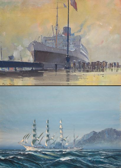 Succès pour la série de 10 toiles de Marin-Marie