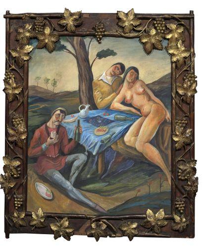 L'art Russe mis en lumière par Goudiashvili