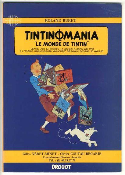 La première vente « Tintinomania »