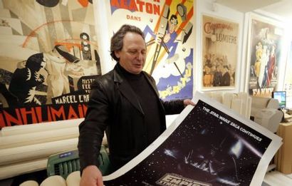 Vente aux enchères exceptionnelle d'affiches de films jeudi à Paris
