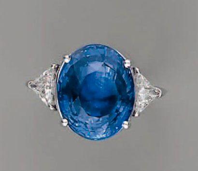 Bagues en diamant et saphir