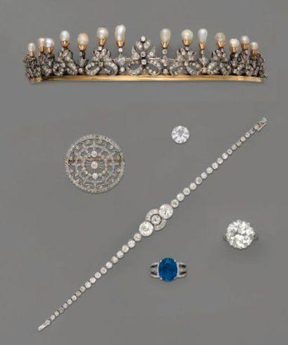 Diamants et saphirs