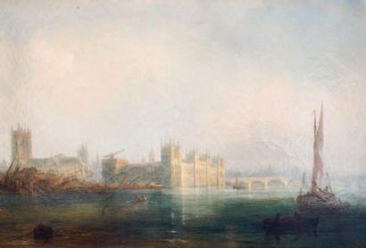 Vue du parlement de Londres