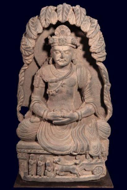 Le Gandhara était placé à la croisée des chemins...