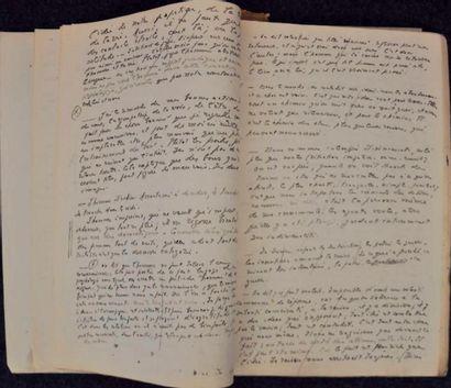 Archives Landru, manuscrits de Chardonne