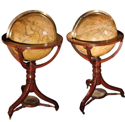 Paire de globe