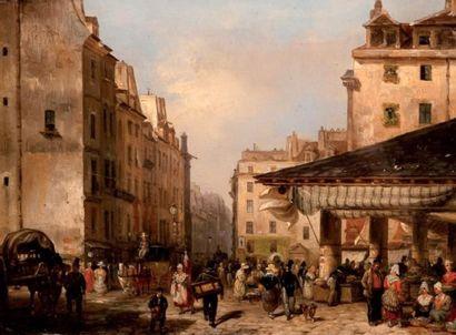 Vue de Paris au XIXe
