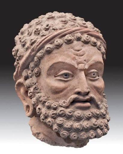 tête de Vajrapani