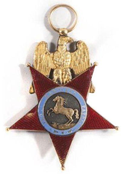 Record pour un insigne régimentaire