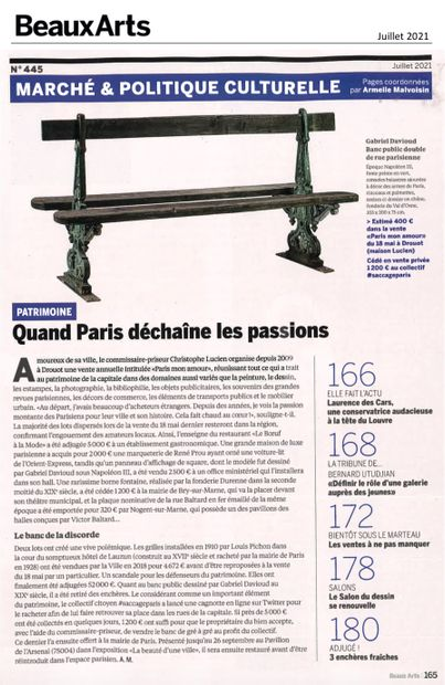 ► Quand Paris déchaîne les passions