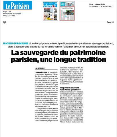 ► La sauvegarde du patrimoine parisien, une longue tradition