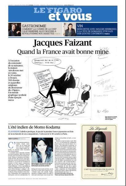 vente Jacques Faizant