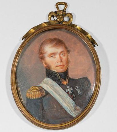 Portrait présumé du Français Camille de Royer