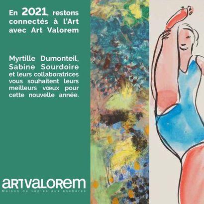 ART VALOREM VOUS SOUHAITE UNE TRES BELLE ANNEE 2021