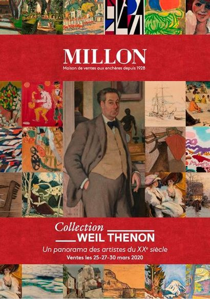 Collection WEIL THENON - Un panorama des artistes du XXème siècle