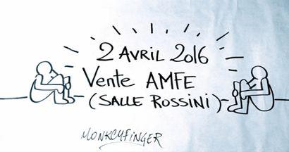 VENTE CARITATIVE AU PROFIT DE L'AMFE (Association Maladies Foie Enfants)