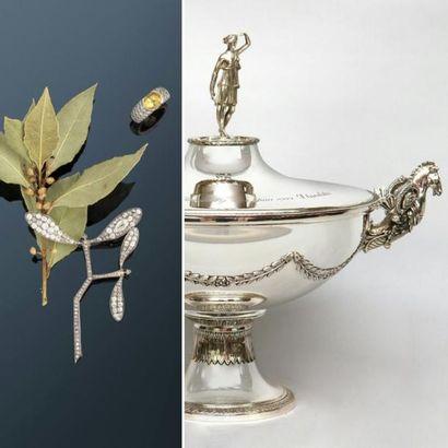 Vente de Bijoux, Montres, Orfèvrerie, Mode. Collection de l'atelier de la maison Lapparra