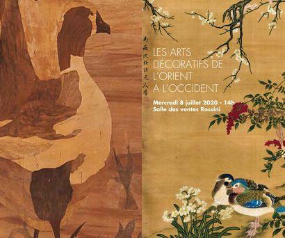 Vente Les Arts Décoratifs de l'Orient à l'Occident - mercredi 8 juillet 2020