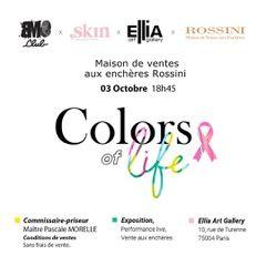 De l'art pour guérir - vente caritative au profit de l'association Skin samedi 3 octobre 2020
