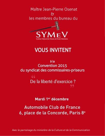 Convention du SYMEV