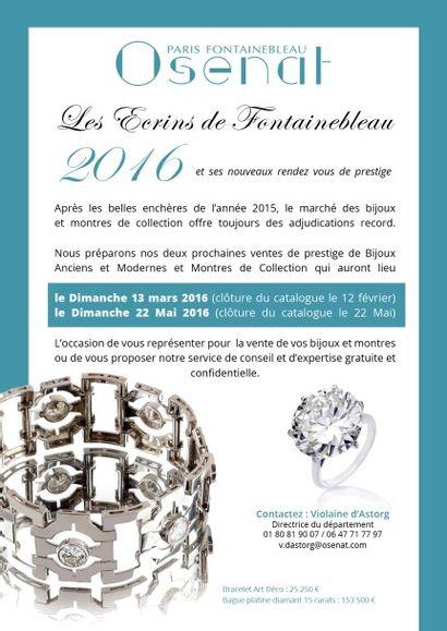VENTE EN PREPARATION - Bijoux et Montres de collection