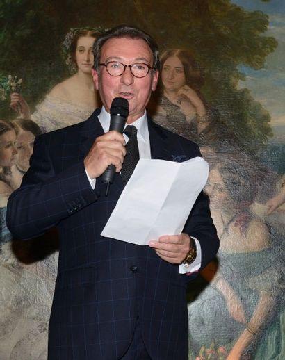 Discours de Maître Osenat à l'Opéra Garnier