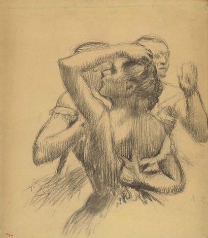 Un chef-d'Œuvre d'Edgar Degas spolié par les nazis réapparaît à fontainebleau, la presse en parle