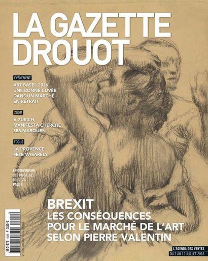 Les danseuses de Degas s'exposent dans la Gazette Drouot