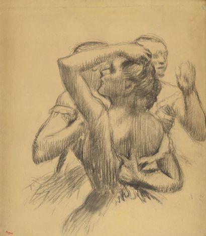 Un dessin d'Edgar Degas, spolié par les nazis, restitué à ses propriétaires, vendu 462 500 € dimanche 10 juillet : la presse française et étrangère en parle