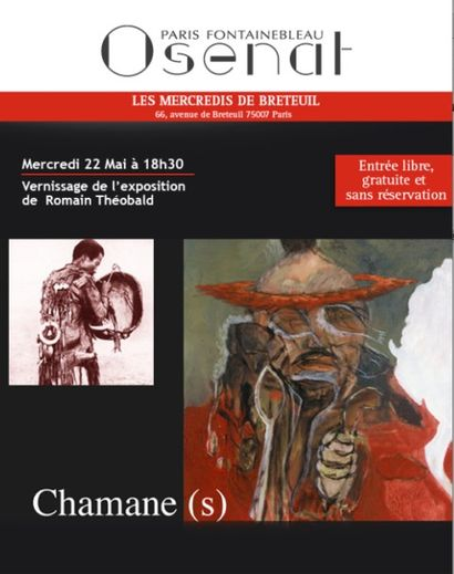 Les mercredis de Breteuil - Vernissage de l'exposition  de  Romain Théobald