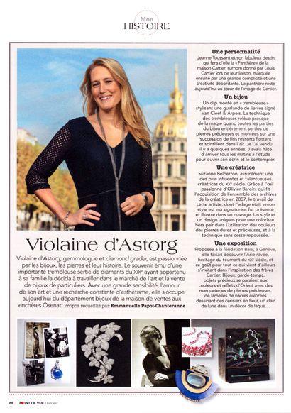 Violaine d'Astorg dans Point de Vue Histoire