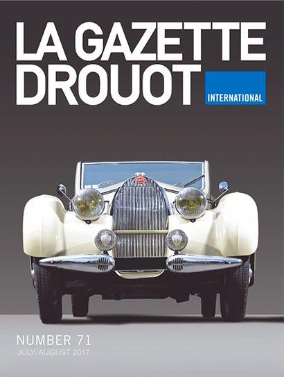 Osenat en couverture de la Gazette Drouot International