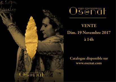 La feuille d'or disparue, symbole du Sacre de l'Empereur Napoléon Ier